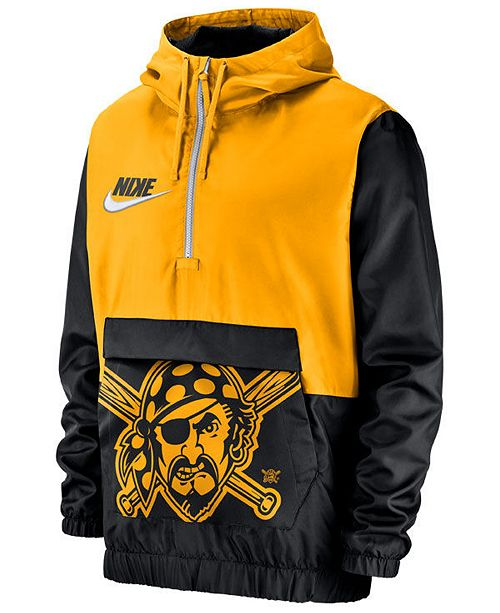 Tremendous Nike Mens Pittsburgh Pirates Walkoff Anorak Jacket Squirreltailoven Fun Painted Chair Ideas Images Squirreltailovenorg