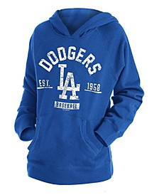 Big Boys Los Angeles Dodgers Fleece Pullover Hoodie