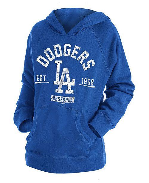 New Era Big Boys Los Angeles Dodgers Fleece Pullover Hoodie