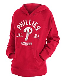 New Era Big Boys Philadelphia Phillies Fleece Pullover Hoodie