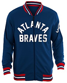 New Era Men's Atlanta Braves Lineup Track Jacket