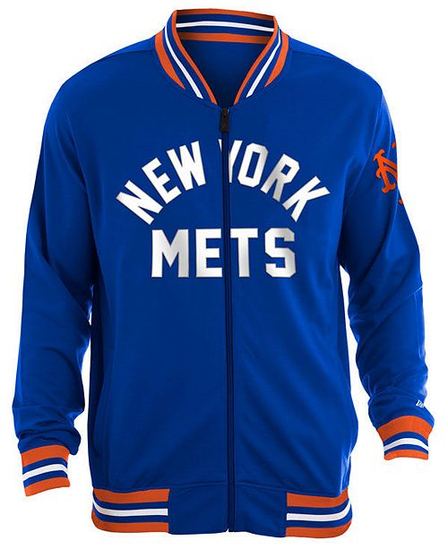 New Era Men's New York Mets Lineup Track Jacket
