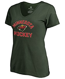 Women's Minnesota Wild Overtime V-Neck T-Shirt