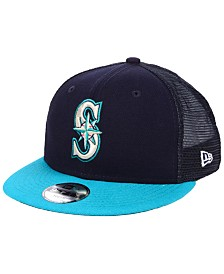 New Era Boys' Seattle Mariners All Day Mesh Back 9FIFTY Snapback Cap