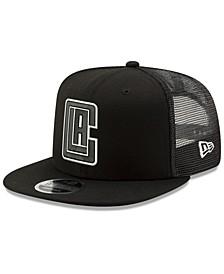 Los Angeles Clippers Dub Fresh Trucker 9FIFTY Snapback Cap