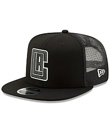 New Era Los Angeles Clippers Dub Fresh Trucker 9FIFTY Snapback Cap