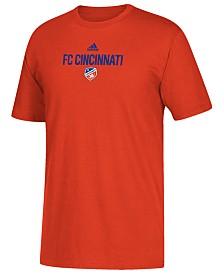 adidas Big Boys FC Cincinnati Locker Stacked T-Shirt