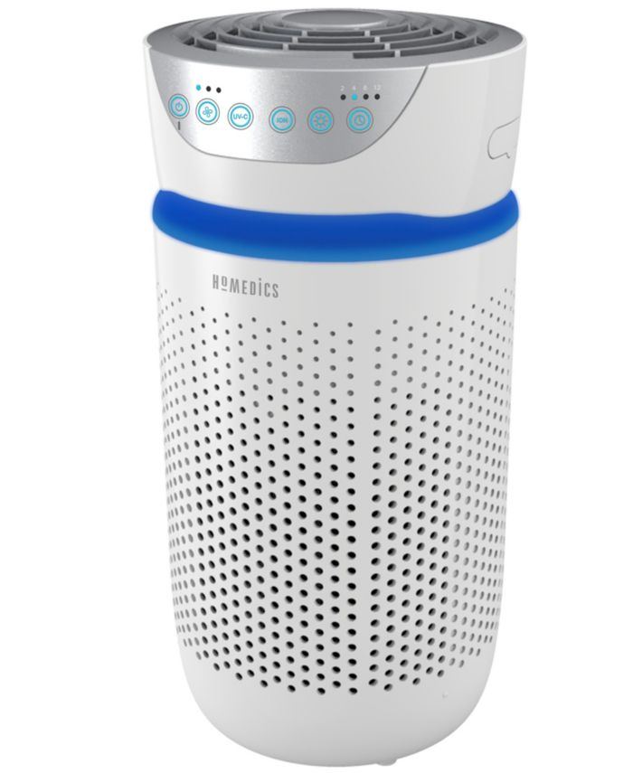 Homedics AP-T20 TotalClean 5 in 1 Tower Air Purifier UV Clean & Reviews - Wellness  - Bed & Bath - Macy's