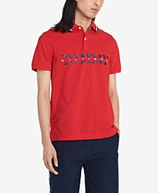 Men's Big and Tall Lance Logo Polo
