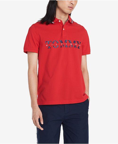 Tommy Hilfiger Men's Lance Custom-Fit Logo Polo