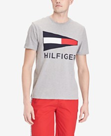 Tommy Hilfiger Men's Bulkhead Logo Graphic T-Shirt