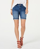 eeccd17072 Style & Co Two-Button Denim Shorts, Created for Macy's