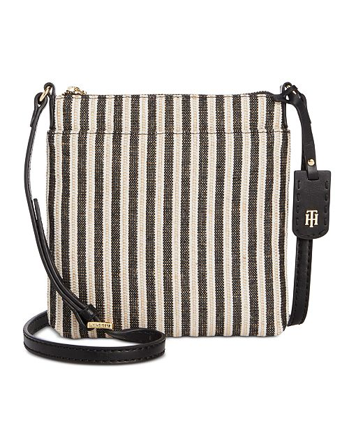 Tommy Hilfiger Julia Straw Lurex Crossbody