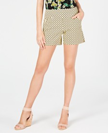 I.N.C. Print Bengaline Shorts, Created for Macy's