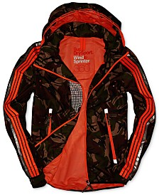 Superdry Men's Hooded Camo Jacket