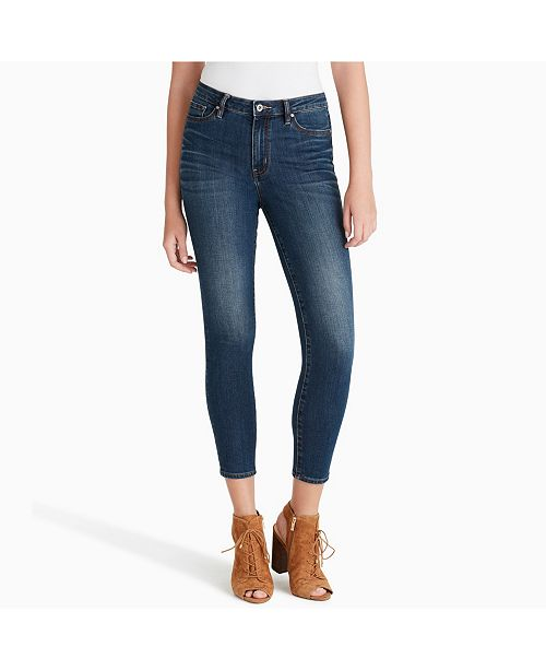 Jessica Simpson Juniors' Adored Curvy Ankle Skinny Jeans