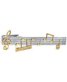 Sutton Music Note Tie Clip
