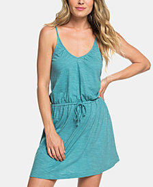 Roxy Juniors' Isla Vista Cotton Drawstring Dress