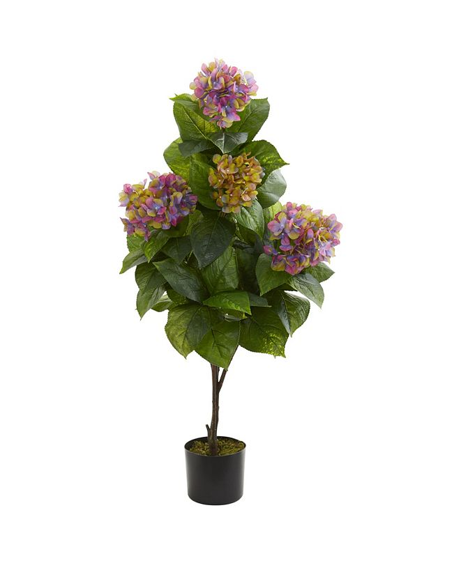 """Nearly Natural 45"""" Hydrangea Artificial Plant"""