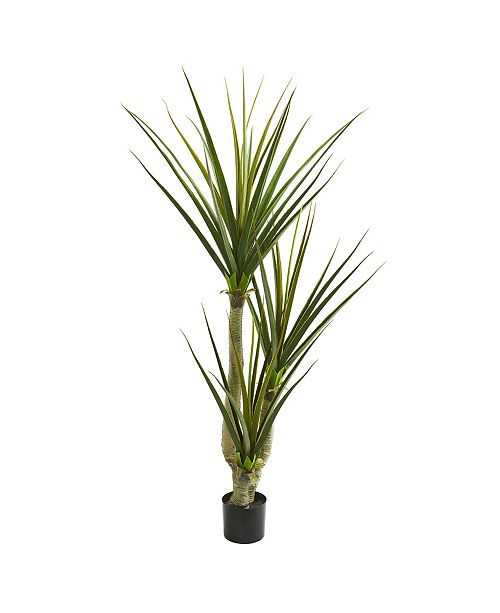 """Nearly Natural 76"""" Yucca Artificial Plant"""