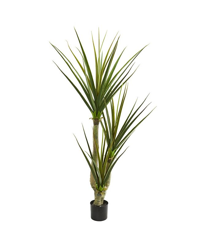 "Nearly Natural 76"" Yucca Artificial Plant"