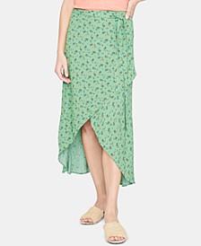 Jamie Printed Wrap Skirt