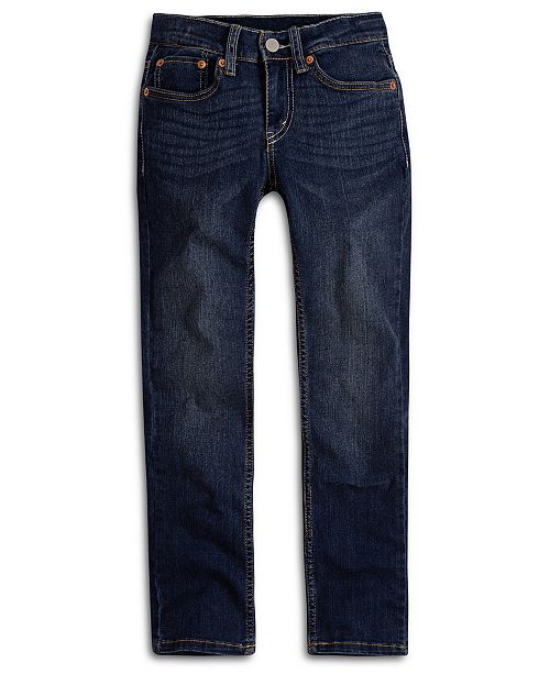 3a83ae288bf Levi's Big Boys 512™ Slim Taper-Fit Jeans & Reviews - Jeans - Kids ...