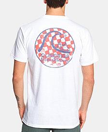 Quiksilver Men's Checkered Logo T-Shirt