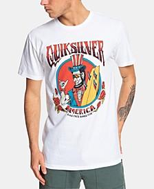 Men's Ride Free Roses Logo Graphic T-Shirt