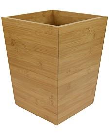 Home Basics Bamboo Waste Bin