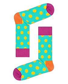 Big Yellow Dot Sock