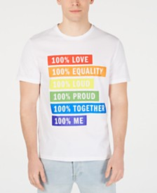 DKNY Men's Pride Graphic T-Shirt