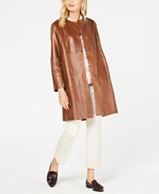 Weekend Max Mara Bobbio Leather Jacket