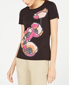Weekend Max Mara Sele Floral-Print T-Shirt