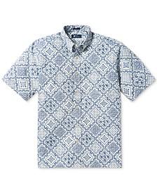 Reyn Spooner Men's Lahaina Classic-Fit Diagonal Geo-Print Shirt