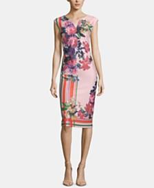 ECI Floral-Print Dress