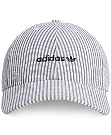 adidas Originals Men's Seersucker Logo Hat