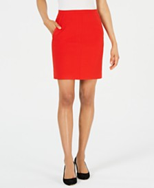 Anne Klein Poppy Pencil Skirt