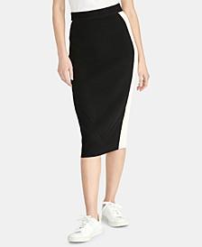 Joyce Colorblocked Sweater Skirt