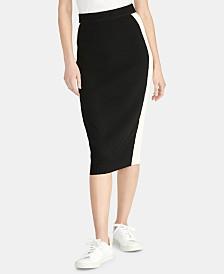 RACHEL Rachel Roy Joyce Colorblocked Sweater Skirt