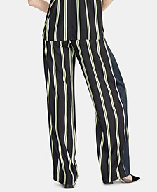 Goldie Striped Pull-On Pants