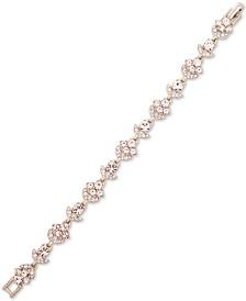 Givenchy Gold-Tone Crystal Flex Bracelet