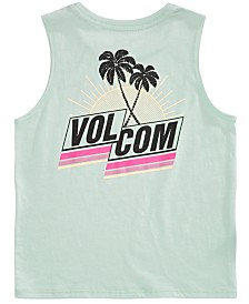 Volcom Little Girls Graphic-Print Sleeveless T-Shirt