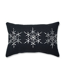 Jeweled Christmas Lumbar Pillow