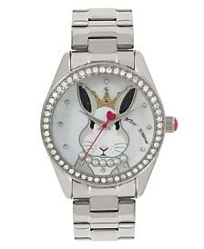 Betsey Johnson Bunny Rabbit Motif Dial Watch