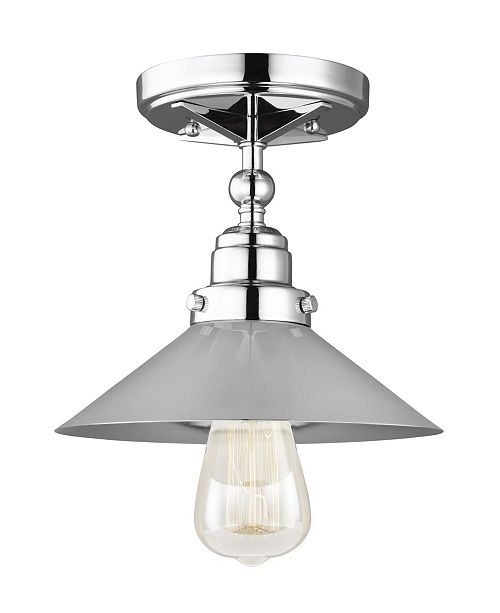 Feiss Hooper 1-Light Flush Mount