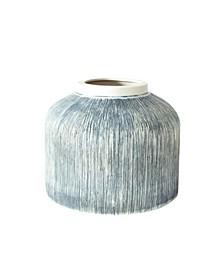 Small Taroudant Indigo Pillar Vase