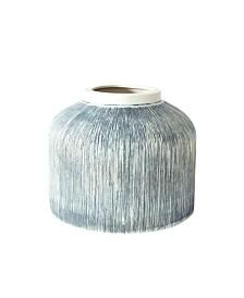 Canvas Home Small Taroudant Indigo Pillar Vase