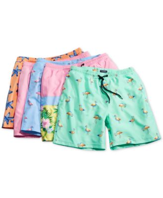 HailinED Boys Kids White Poodle Dog and Sunflowers Quick Dry Beach Swim Trunk Solid Swimsuit Beach Shorts with Pocket