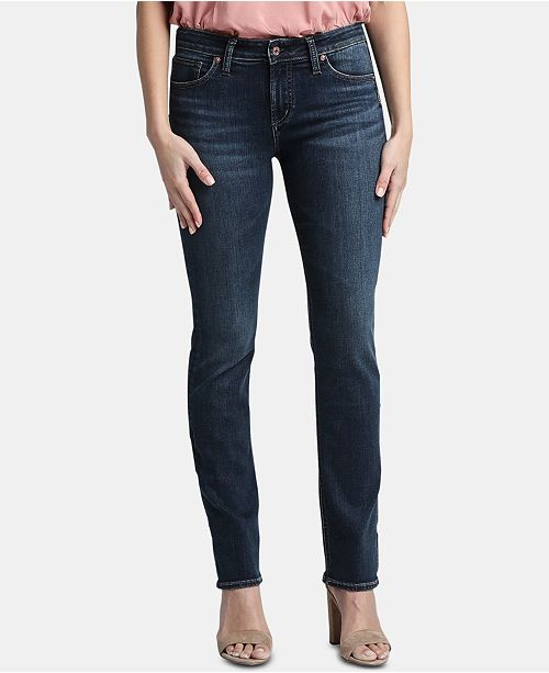 Silver Jeans Co. Avery Straight-Leg Jeans